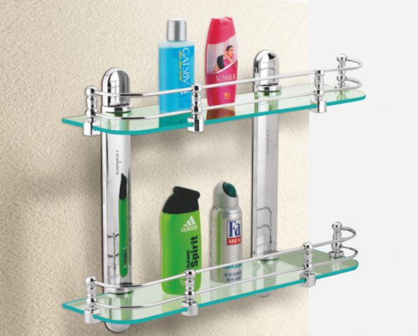 Double Glass Shelf Front