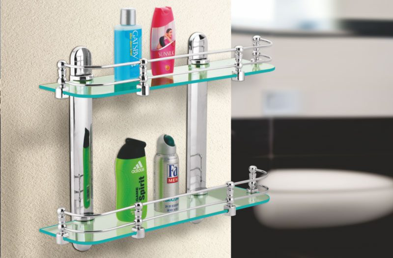 front glass shelves